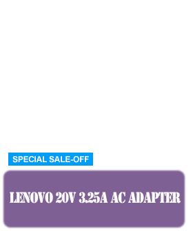 lenovo 20v 3.25a adapter