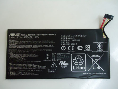 Replacement C11-ME370T Battery For Asus Google Nexus 7