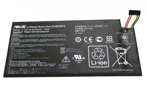 Replacement Asus C11-ME370TG 3.75V 4270mAh/16Wh Battery