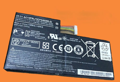 ACER ICONIA A1-810 AC13F8L BATTERY