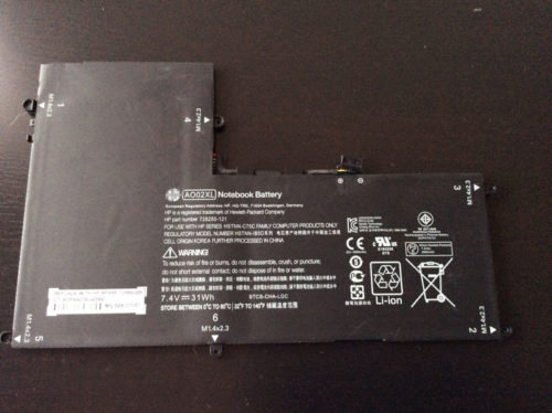 Hp ElitePad 1000 AO02XL HSTNN-C75C Battery