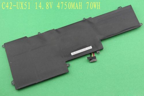 Asus Zenbook UX51VZ U500VZ c42-ux51 70Wh Battery
