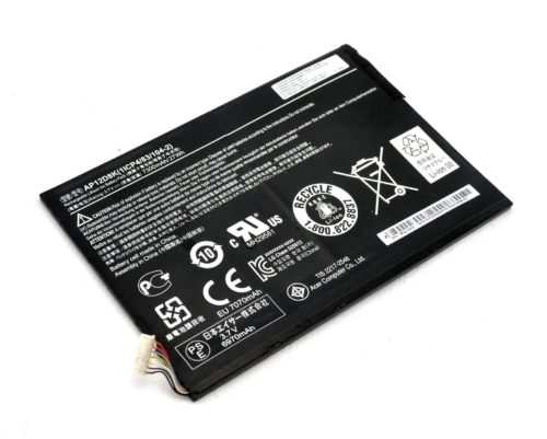 Replacement AP12D8K Acer Iconia Tab A3-A10 W510 W510P Tablet Battery