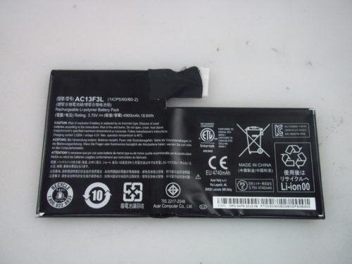 """Replacement Acer Iconia A1 A1-810 7.9"""" Tablet AC13F3L Battery"""