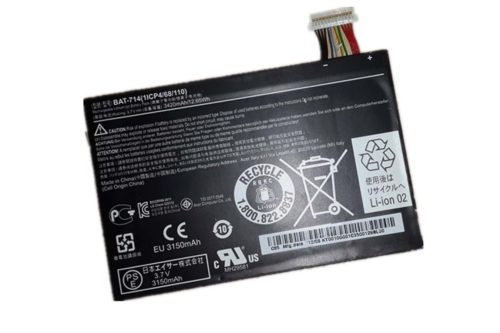 Replacement Acer Iconia Tab A110 Tablet BAT-714 Battery