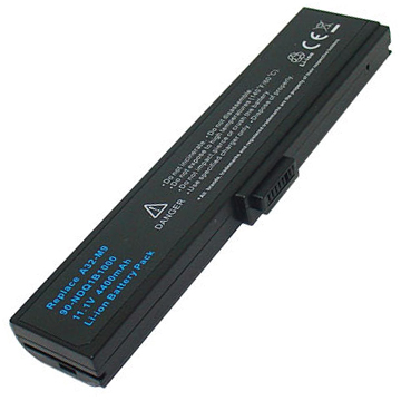 Replacement Asus M9A M9F M9V T76J W7F W7J A32-M9J A32-W7 Battery