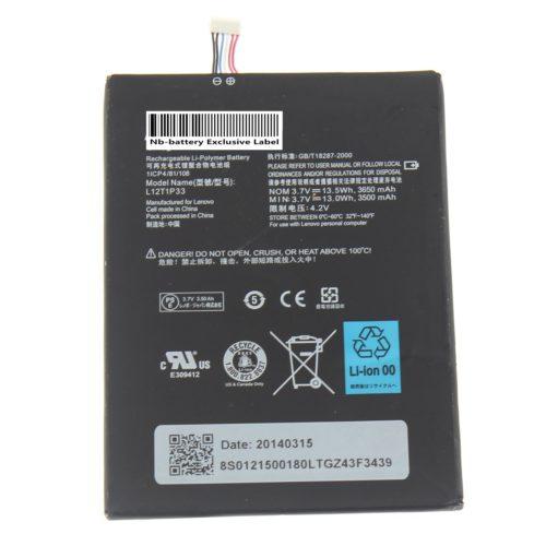Lenovo A3000-H A3000 A5000 L12D1P31 L12T1P33 Battery