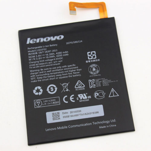 Replacement L13D1P32 Battery For Lenovo Ideapad A8-50 A5500