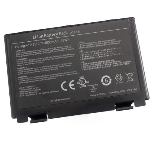 Replacement ASUS A32- F52 A32-F82 L0690L6 K40 K40E K40IJ K40IN laptop battery