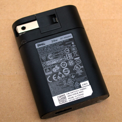 Replacement Dell 24W 19.5V 1.2A AC Adapter for Dell Venue 7 Pro Tablet PC