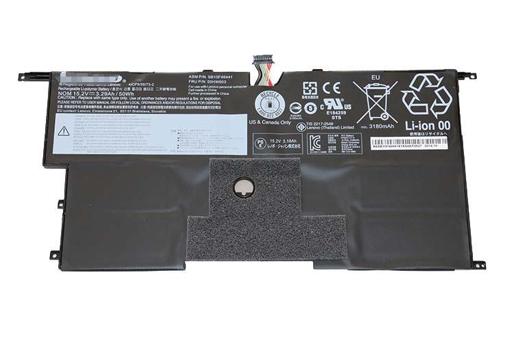 Replacement Lenovo 00HW003 SB10F46441 ThinkPad X1 Carbon Gen3 2015 Battery