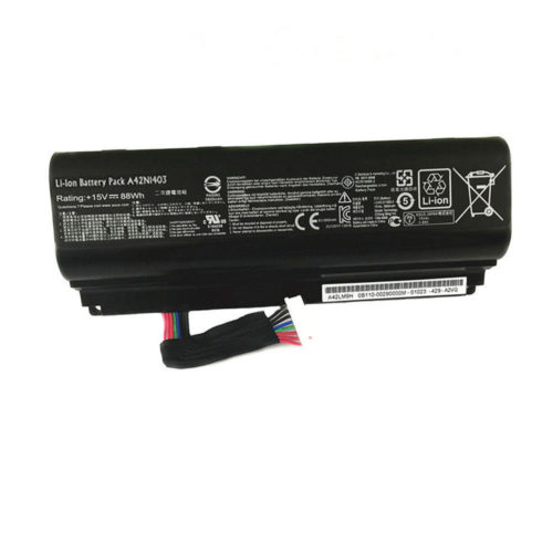 Replacement ASUS A42LM93 G751J-BHI7T25 GFX71JY4710 A42N1403 Battery