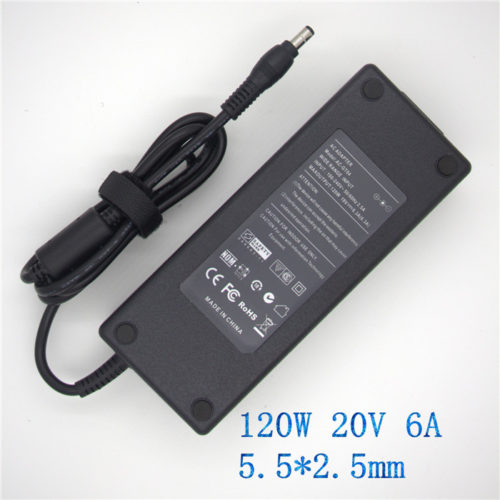 ACER 20V 6A 120W ADP-120DB PA-1121-02 PA-1121-04 Ac Adapter Power Charger