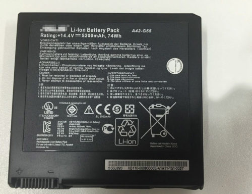 Replacement Asus A42-G55 ASUS G55V G55VM G55VW  Notebook Battery