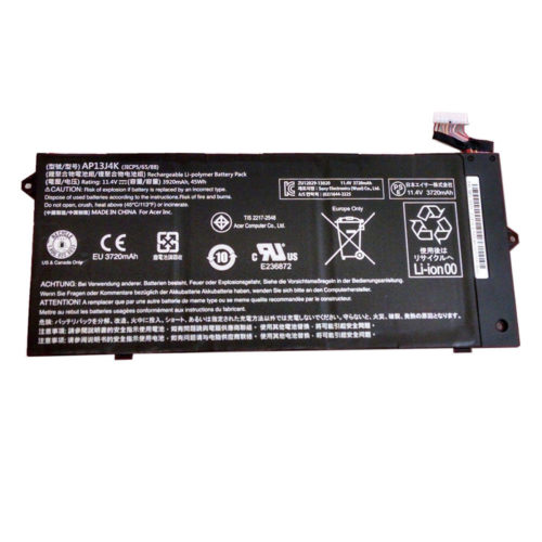 Replacement Acer AP13J4K AP13J3K KT.00303.011 Chromebook C720 C720P 3-Cell Battery