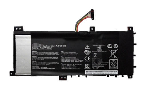 Replacement ASUS VivoBook S451 S451LA S451LB S451LN C21N1335 38Wh Battery