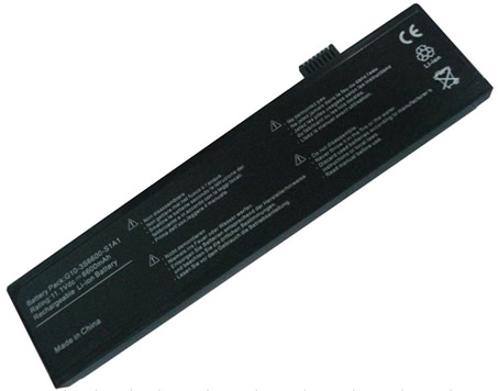 Replacement New Advent 4213 ECS G10L/1A-28 G10IL1 G10-3S3600-S1A1 Notebook Battery