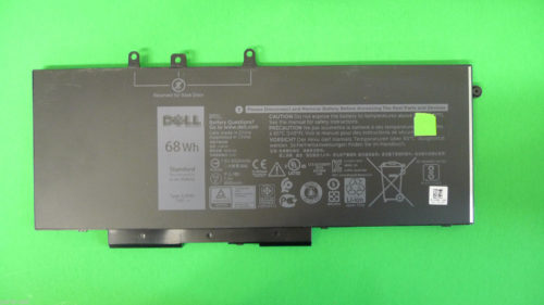 Replacement DELL Precision 3520, GJKNX, GD1JP 68Wh 7.6V Battery