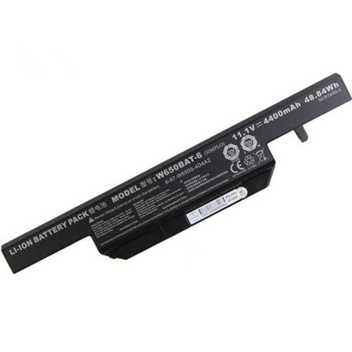 W650BAT-6 Battery for Clevo W650SJ W650SH HASEE K650D K570N K590C