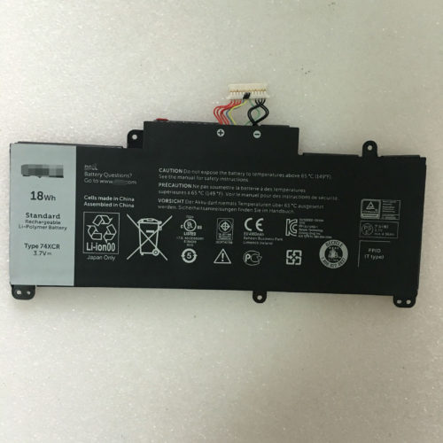 Dell 74XCR Venue 8 Pro 3845 5830 18Wh Tablet Battery