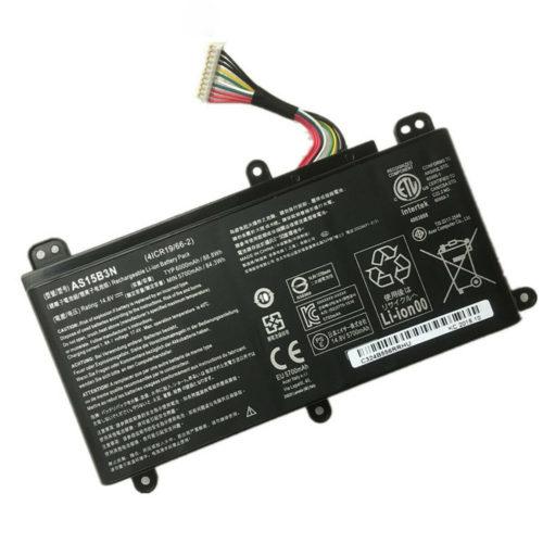 AS15B3N 88.8Wh Battery For Acer Predator 15 G9-591R Predator 17 G9